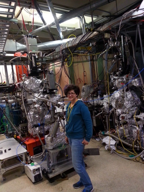 Dr Kelly At Beam Line 8 2 SSRL